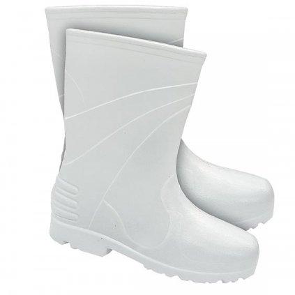 RW00-BLWELLINGTONK Zateplená krátka pracovná obuv (Farba Biela, Veľkosť 42)