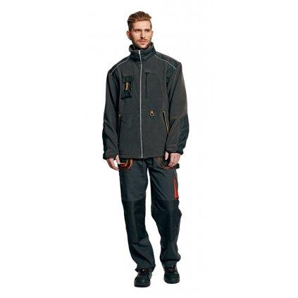 Pánska zimná pracovná fleecová bunda EMERTON