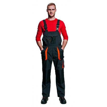 Pánske pracovné zateplené nohavice s náprsenkou EMERTON