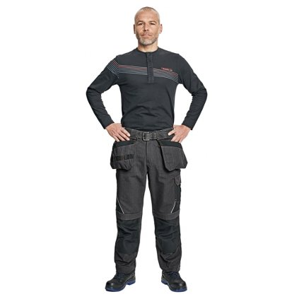Pánske pracovné nohavice do pása LAHR 1