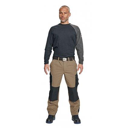 Pánske pracovné nohavice do pása ERDING 1