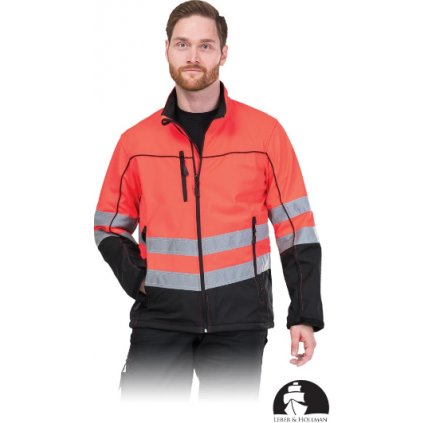Ochranná softshelová reflexná bunda LH IBIS YB RAW Pol 2