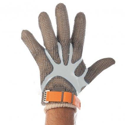 rukavice z kovovejj sietoviny