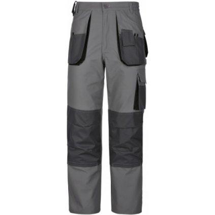 Pracovné nohavice do pása power sivé