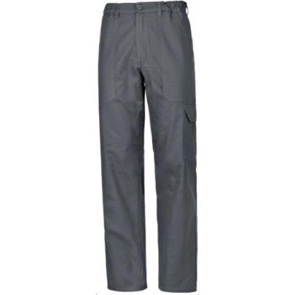 basic nohavice do pása sivé