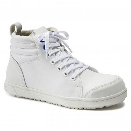 """Pracovné členkové topánky športového dizajnu """"BIRKENSTOCK QS 700 MF weiß S3 36061"""""""