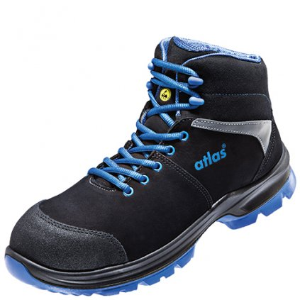 Bezpečnostné členkové pracovné topánky ATLAS SL 80 ESD S2 22931