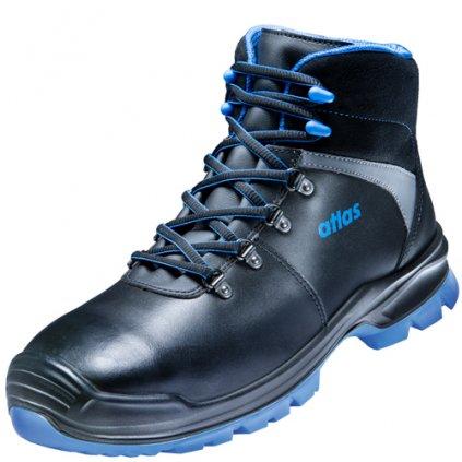 Bezpečnostné členkové pracovné topánky ATLAS SL 525 XP blue ESD S3 36925