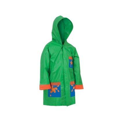 Detská pláštenka Frog, zelená, veľ. 140