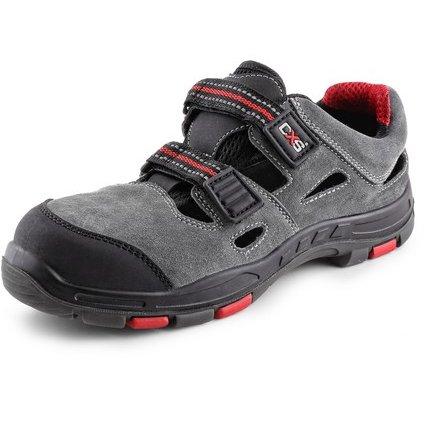 Obuv sandal CXS ROCK PHYLLITE S1P, sivá, veľ. 48
