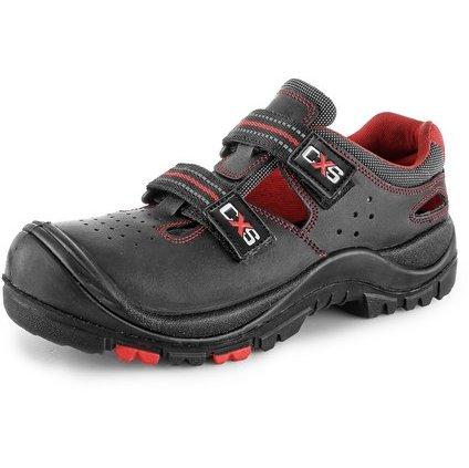 Obuv sandál CXS ROCK MICA S1P, kompozit. špice, kevlaro. planžeta, čierny, veľ. 50