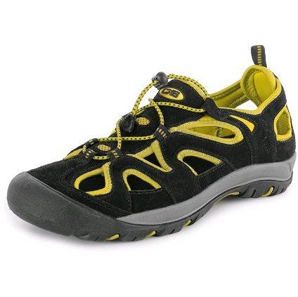 Obuv sandál CXS GOBI, čierno - žltá, veľ. 48