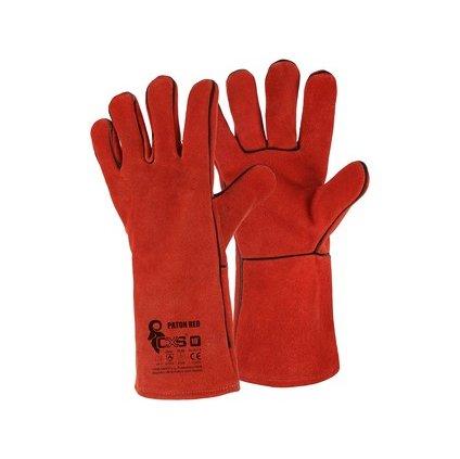Zváračské rukavice CXS PATON RED