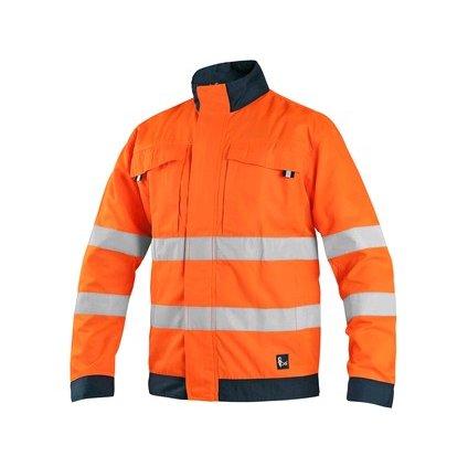 Reflexná oranžová bunda CXS HALIFAX