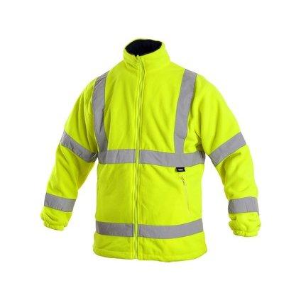 Pánska fleecová výstražná bunda  CXS PRESTON
