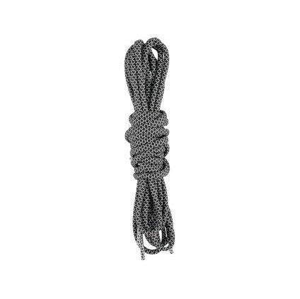 Reflexné okrúhle šnúrky do obuvi 130 cm