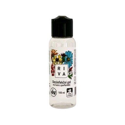 Dezinfekčný gél na ruky RIVA, 100 ml