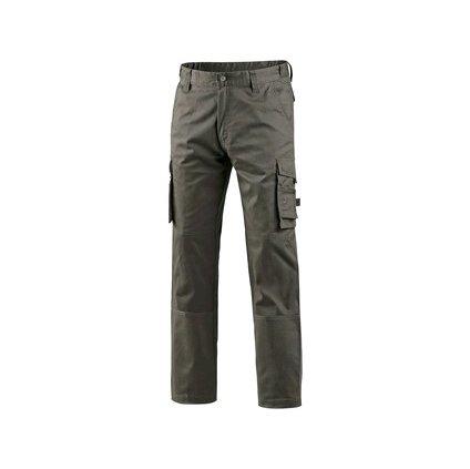 Pracovné voľnočasové a pracovné nohavice  CXS Venator II v khaki farbe