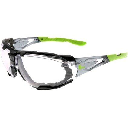 Pracovné okuliare  CXS-Opsis TIEVA, I / O zorník, čierno - zelené