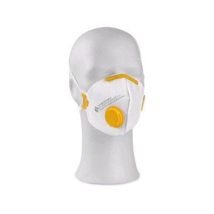 Skladaný respirátor  FS 913 V FFP1 D s ventilom