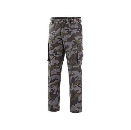 Kvalitné pánske maskáčové nohavice CAMO