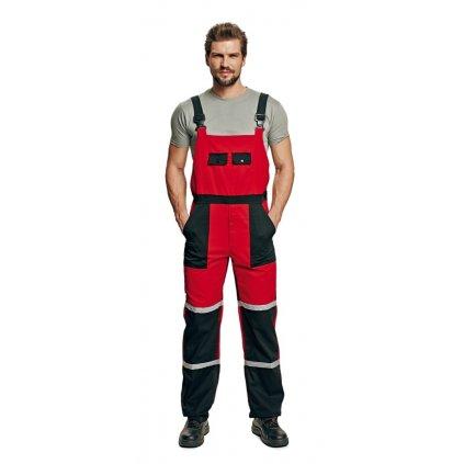 CRV TAYRA: Olejuvzdorné pracovné nohavice s náprsenkou - 0302 0116 20