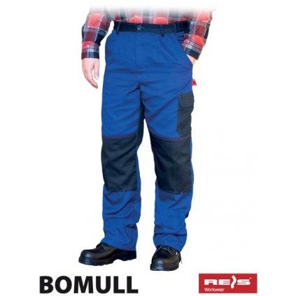 RAW BOMULL: Pracovné montérky do pása BOMULL-T NG