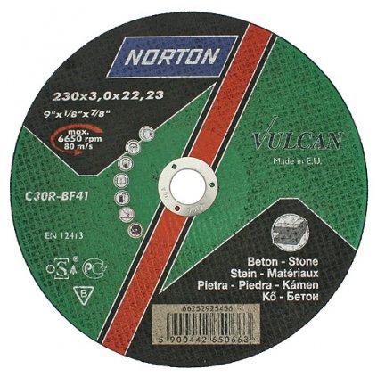 Kotúč NORTON Vulcan C 230x3,0x22 C30R-BF41, kameň