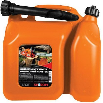 Kanister SHERON 06+2.5 lit, kombinovaný na olej a PHM