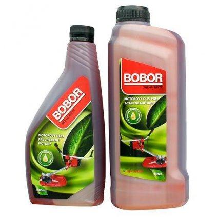 Olej Bobor Garden 2TC, 1000 ml, SAE40 API TC