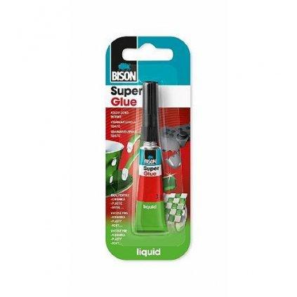 Lepidlo Bison Super Glue Liquid, 3 g