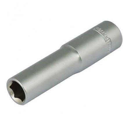 """Hlavica whirlpower® 16121-12, 07.0 mm, 1/4"""", Cr-V, 6point, predĺžená"""