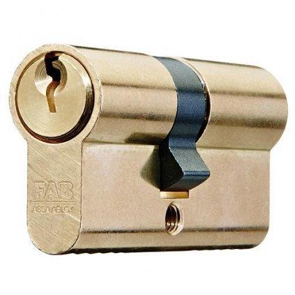 Vložka cylindrická FAB 50D/30+50, 3 kľúče, stavebná, kusové bal.