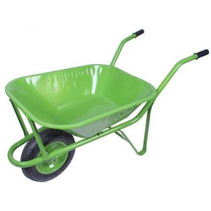 Fúrik DOLOMITE, 60 lit, s nafukovacím kolesom, zelený, max. 150 kg