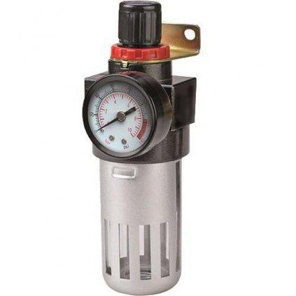 """Filter Airtool MF-2, vzduchový, na kompresor, s regulátorom a tlakomerom, 1/4"""""""