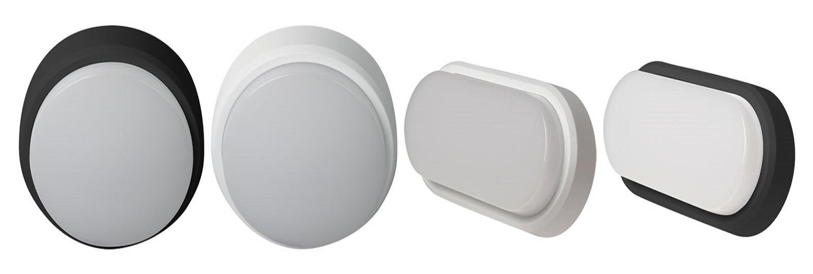OHIO LED svítidla v krytí IP 54 v barvě 3000K nebo 4000K, vhodné pro vnitřní i venkovní aplikace