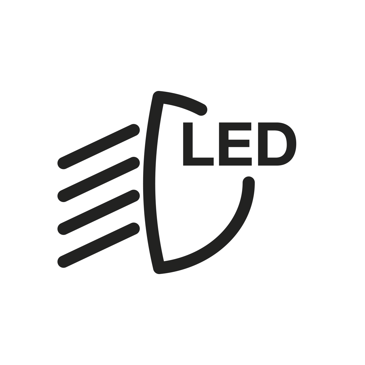 Full LED světlomety