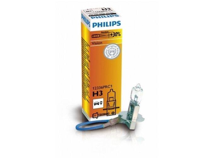 žárovka H3 12V 55W PK22s Premium +30% PHILIPS