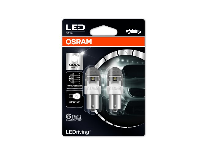 LEDriving PREMIUM RETROFIT P21W 7556CW 02B FS G10605238
