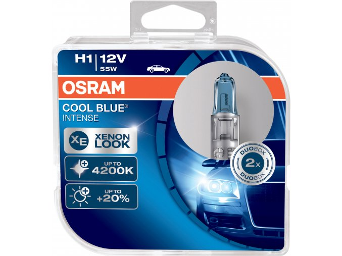 Žárovka H1 12V 55W P14,5s COOL BLUE Intense OSRAM