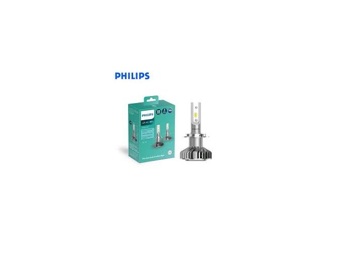 2ks LEDH7 Ultinon 12V 6200K PHILIPS (3)