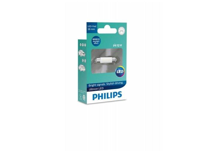 LED 12V SV8,5 8 38mm ULTINON 6000K Philips