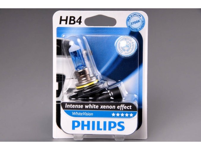 blistr HB4 12V 51W P22d 9006 WhiteVision PHILIPS