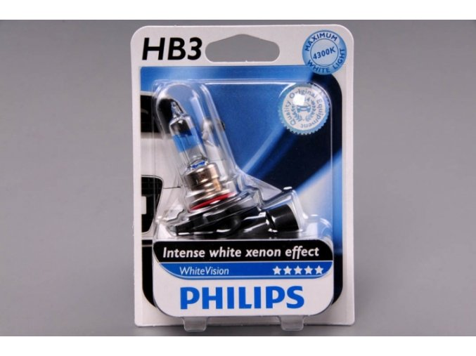 blistr HB3 12V 65W P20d WhiteVision PHILIPS