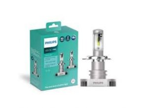 2ks LEDH4 Ultinon 12V 6200K PHILIPS (3)