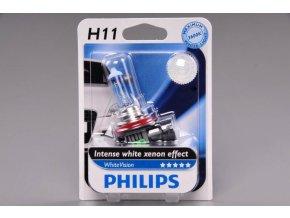 blistr H11 12V 55W PGJ 19 2 WhiteVision PHILIPS