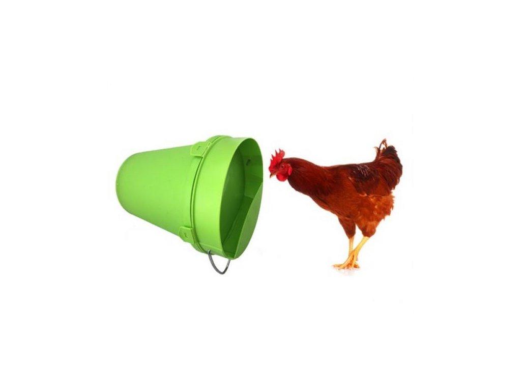 Napáječka kbelíková plastová 5,5 litru