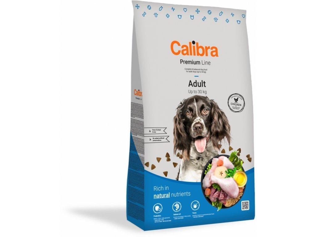 20379 calibra dog premium line adult 12 kg new