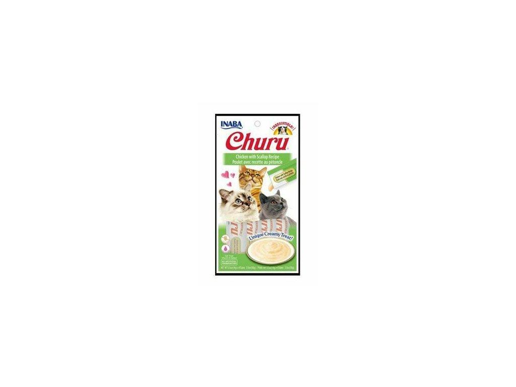 Churu Cat Chicken with Scallop 4x14g