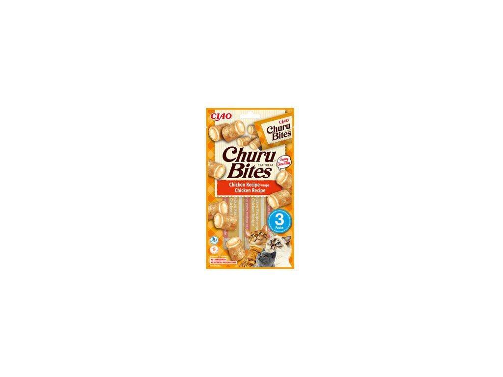churu cat bites chicken wrapschicken puree 3x10g (1)
